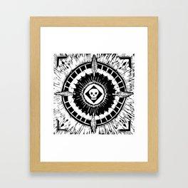 Tenochzitza's Mandala Framed Art Print
