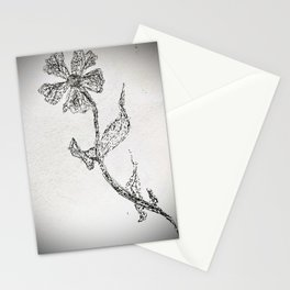 pointillist daisy Stationery Cards