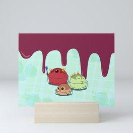 Penguinscoops - Candy Corn Mini Art Print