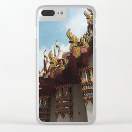 Take Me to Thailand Clear iPhone Case