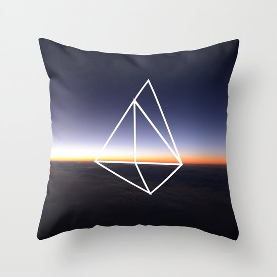 Geometry Throw Pillow