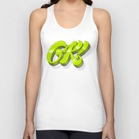 kim sy ok Tank Tops featuring Ok by Roberlan Borges