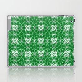 Green Floral Geometric Laptop & iPad Skin