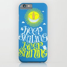 SMILE & SHINE Slim Case iPhone 6s