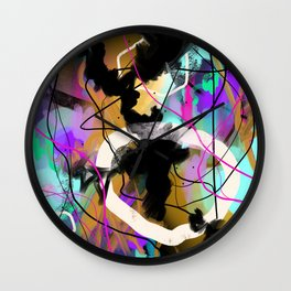 In the Midst of it Wall Clock