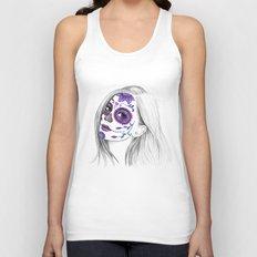 Sugar Skull Girl Unisex Tank Top