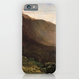 Mount Lafayette Franconia Notch New Hampshire 1870 By Thomas Hill | Reproduction iPhone Case