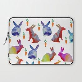 Rabbits Joy Laptop Sleeve
