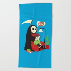 Guess Who Beach Towel