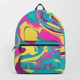 Acrylic Flow #2307 - BubbleBerry Blast Backpack