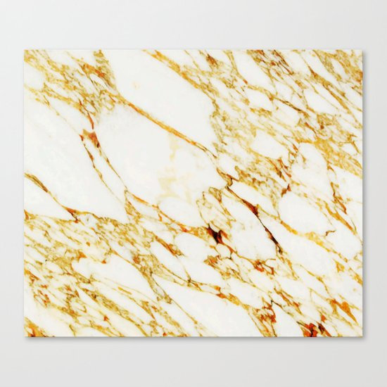 Gold Marble #society6 #decor #buyart #marble Canvas Print