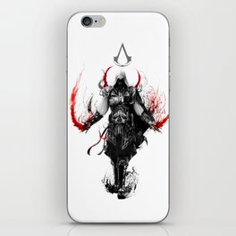 assassin's creed ezio iPhone Skin