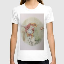 Jeremy Fisher by Beatrix Potter T-shirt