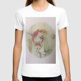 Jeremy Fisher by Beatrix Potter T-shirt