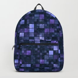 Blue Squares Backpack