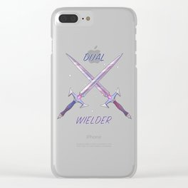 Dual Wielder Clear iPhone Case