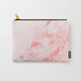 red fox digital acryl painting acrpw Carry-All Pouch