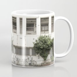 Okinawa bike, Okinawa  tree Coffee Mug