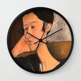 "Amedeo Modigliani ""Hanka Zborowski"" Wall Clock"