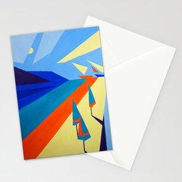 """On the Coast"" painting by Diana Grigoryeva Stationery Cards"