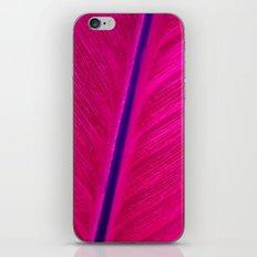 pink leaf iPhone & iPod Skin