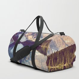 Moraine Lake Reflection Duffle Bag