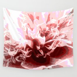 Floral shapes and colors Wall Tapestry