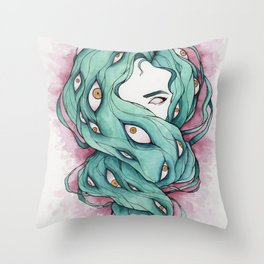Good Hair Day Throw Pillow