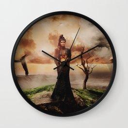 Fiery Queen Wall Clock