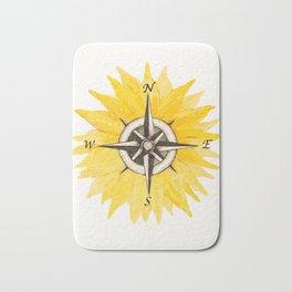 Compass  Sunflower Bath Mat