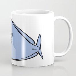 Unicorn fish illustration Coffee Mug