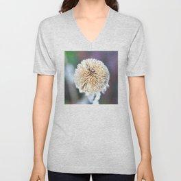 Flower | Flowers | Seed Pod Sphere | Nadia Bonello Unisex V-Neck