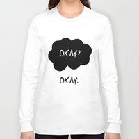 okay Long Sleeve T-shirts featuring Okay by alboradas