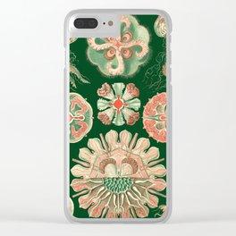 Ernst Haeckel Discomedusae Jellyfish Clear iPhone Case