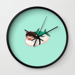 Whale Shark MerSushi Wall Clock