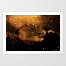 Terrestrial Visitation Art Print