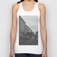 berlin Tank Tops featuring Berlin by Jane Lacey Smith