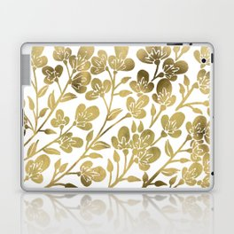 Cherry Blossoms – Gold Palette Laptop & iPad Skin