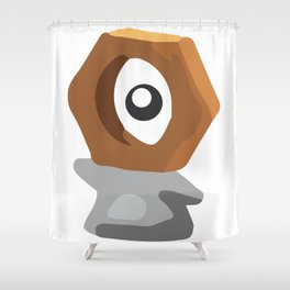 Poke Go Meltan (????) Shower Curtain