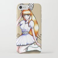 polka iPhone & iPod Cases featuring Polka by Flying Cat Artwork