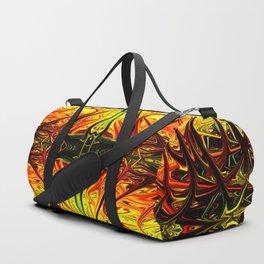 Arachnid Alien Firegrass by Chris Sparks Duffle Bag