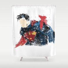 $uperman Shower Curtain