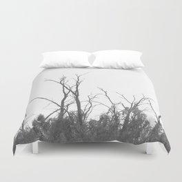 Dark Atmospheric forest Duvet Cover