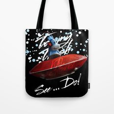 Kal the Monkey - See...Do! Tote Bag