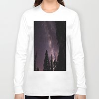 milky way Long Sleeve T-shirts featuring Milky Way by Holly O'Briant