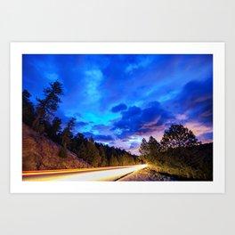 Colorado Highway 7 To Heaven Art Print