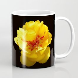 Think Flowers - Moss Rose Coffee Mug