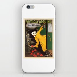 Vintage Cafe Espresso Advert - Circa 1930's iPhone Skin