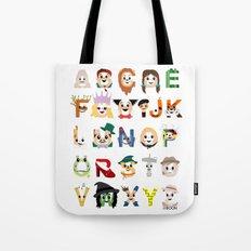 Oz-abet (an Oz Alphabet) Tote Bag