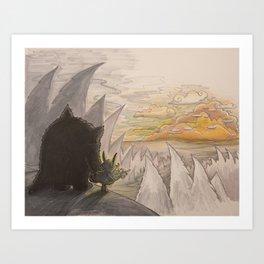 The Beast - 07 Art Print